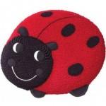 Red Lady Bug Cake