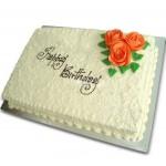 Birthday Ribbon Cake