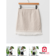 Marga Skirt with Simple Edge Details