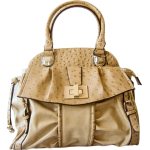 Japan  Fashion Ostrich Leather  Bag