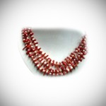 Red Coral & Freshwater White Pearl