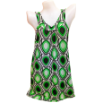 Sleeveless Dress in Green